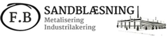 F. B. Sandblæsning ApS logo
