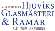Hjuviks Glasmästeri & Rambutik logo