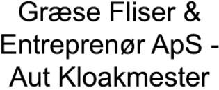 Græse Fliser & Entreprenør ApS - Aut.Kloakmester logo