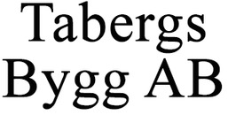 Tabergs Bygg AB logo