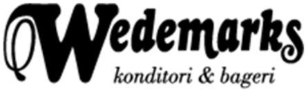 Wedemarks Konditori AB logo