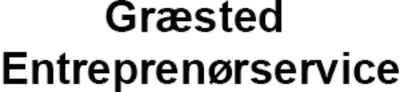 Græsted Entreprenørservice logo