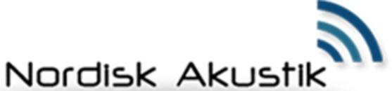 Nordisk Akustik A/S logo