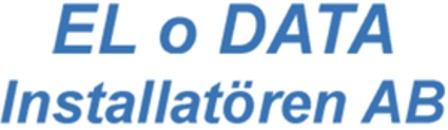 El o Data Installatören AB logo