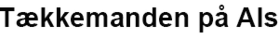 Tækkemanden på Als logo
