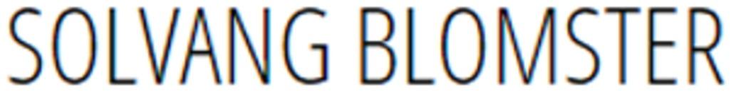 Solvang Blomster logo