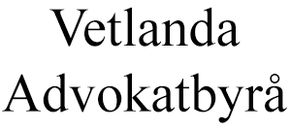 Vetlanda Advokatbyrå AB logo