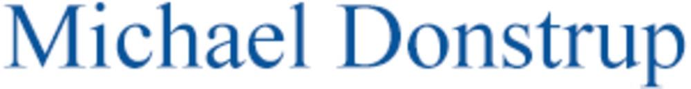 Michael Donstrup logo