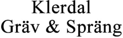 Klerdals Gräv & Spräng AB logo