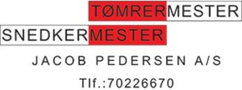 Tømrer- og Snedkermester Jacob Pedersen A/S logo