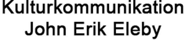 Kulturkommunikation John Erik Eleby logo