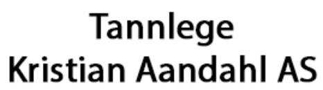 Tannlege Kristian Aandahl AS logo