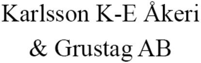 Karlsson K-E Åkeri o. Grustag AB logo