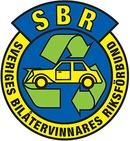SBR Sveriges Bilåtervinnares Riksförbund logo