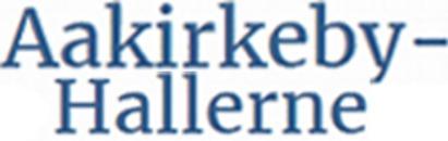 Aakirkeby-Hallerne S/I logo