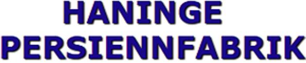 Haninge Persiennfabrik HB logo