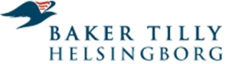 Baker Tilly Helsingborg KB logo