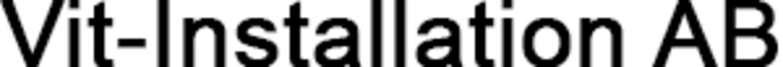 Vit-Installation AB logo