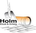 Holm Kloak & Anlæg logo