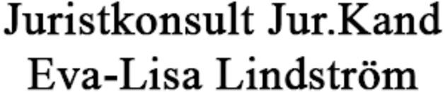 Juristkonsult Jur.Kand Eva-Lisa Lindström logo