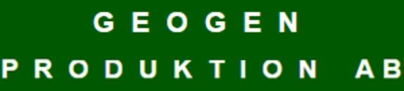 Geogen Produktion AB logo