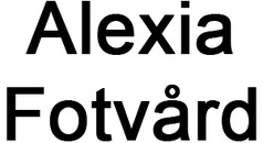 Alexia Fotvård logo