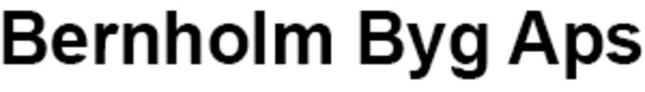 Bernholm Byg Aps logo