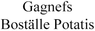 Gagnefs Boställe Potatis AB logo
