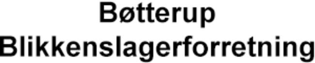 Bøtterup Blikkenslagerforretning logo