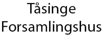 Tåsinge Forsamlingshus logo