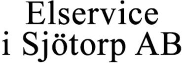 Elservice i Sjötorp AB logo