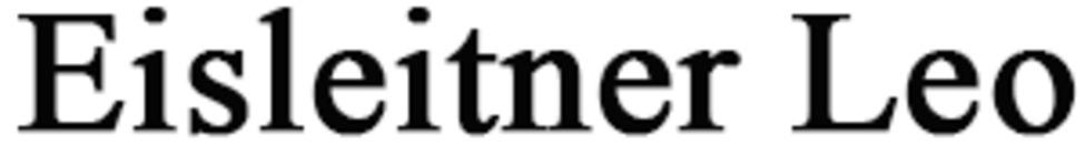 Eisleitner Leo logo