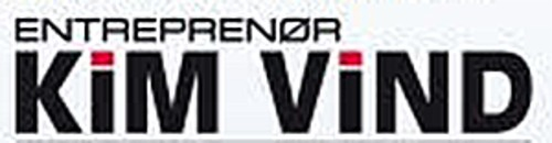 Entreprenør Kim Vind ApS logo
