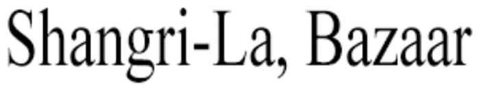 Shangri-La, Bazaar logo