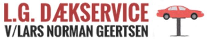L.G. Dækservice logo