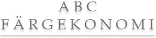 ABC Färgekonomi AB logo