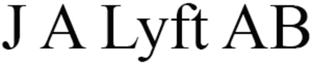 J A Lyft AB logo