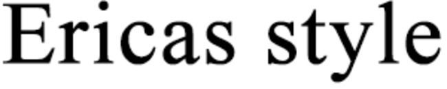 Ericas style logo