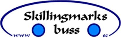Skillingmarks Buss AB logo