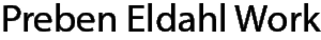 Preben Eldahl Work logo