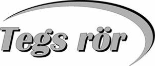 Tegs Rör AB logo