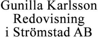 Karlsson Redovisning i Strömstad AB, Gunilla logo