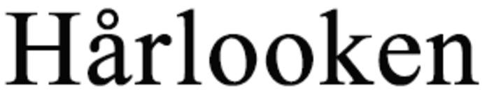 Hårlooken logo