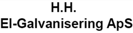 H.H. El-Galvanisering ApS logo