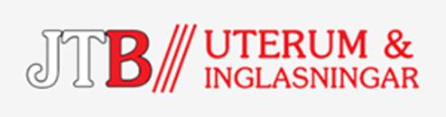 JTB Uterum & Inglasningar AB logo