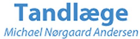 Tandlæge Michael Nørgaard Andersen logo