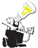 KM EL- teknik ApS logo