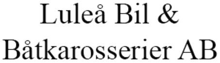 Luleå Bil o. Båtkarosserier AB logo