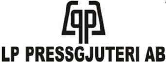 LP Pressgjuteri AB logo