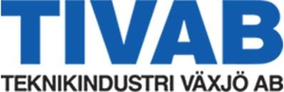 TIVAB Teknikindustri i Växjö AB logo
